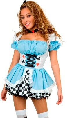 Fairy Tale Teen Alice Costume