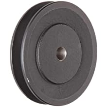 Martin FHP Sheave BS, 3L/4L Belt Section, 1 Groove, Class 30 Gray Cast Iron