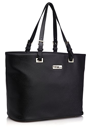 NNEE-Top-Handle-Handbag-Tote-Bag-With-Adjustable-Handle-Multiple-Pocket-Design