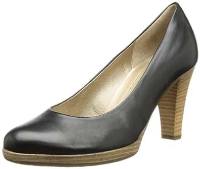 Gabor Shoes 85.220.57 Damen Pumps, Schwarz (schw.(Sohle natur)), EU 41 (UK 7.5) (US 10)