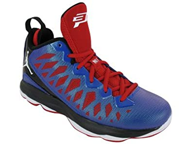 Air Jordan CP3.VI (Kids) - Game Royal / White-Black-Sport Red, 6.5 M US