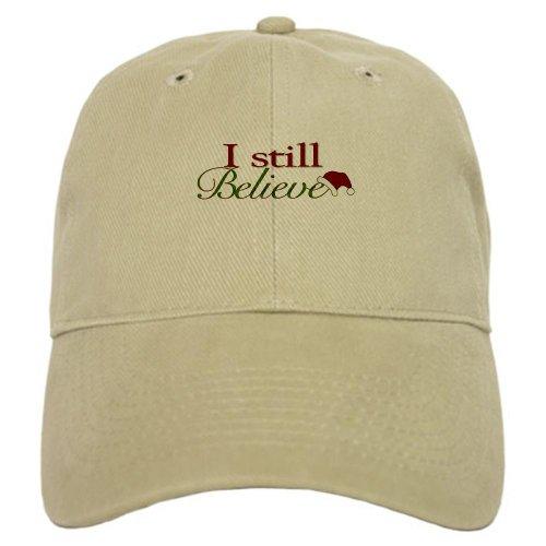 CafePress - I Still Believe (Santa Claus) Cap - Baseball Cap with Adjustable Closure, Unique Printed Baseball (Santa Claus Cap)