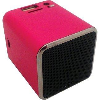 Snowfire Cube-Pk Cuboid Portable Speaker - Pink
