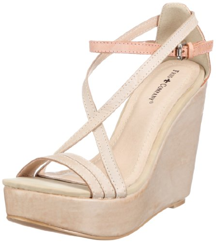 Friis & Company Christina Fashion Sandals Womens Gray Grau (Taupe 114) Size: 7 (41 EU)