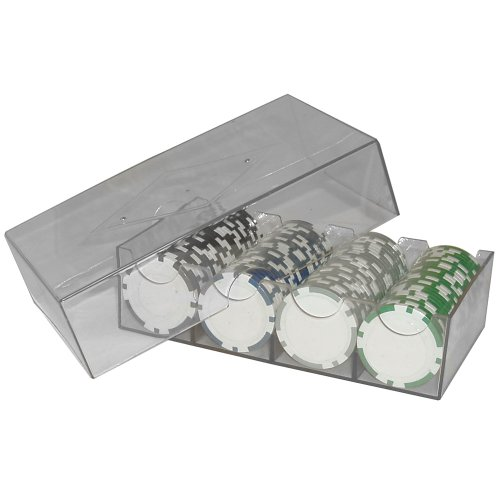Cheapest Price! Trademark Clear Plastic Chip Storage Box (Smoke)