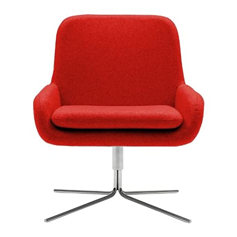 Coco Swivel Chair red/felt 622