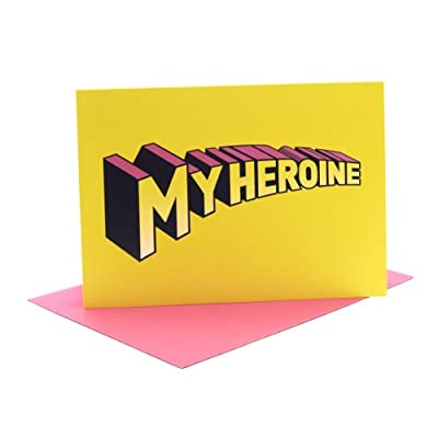 My Heroine Single Greeting Card