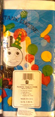 Thomas the Tank Engine Tablecover (54 X 96 Inches)