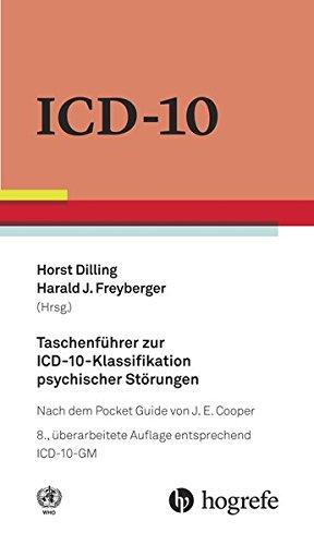Taschenführer zur ICD-10-Klassifikation psychischer Störungen: nach dem Pocket Guide von J.E. Cooper