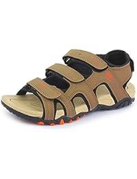 Trase SRV Men's Vibe Brown Sandals & Floaters