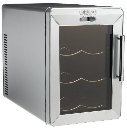 Buy Cuisinart CWC-600 Private Reserve 6-Bottle Stainless-Steel Countertop Wine Cellar