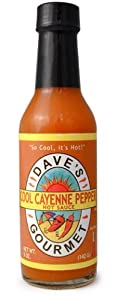 Daves Gourmet Cool Cayenne Hot Pepper Sauce by Daves Gourmet