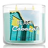 Bath and Body Works Beach Cabana Three Wick Scented Candle 14.5 Oz