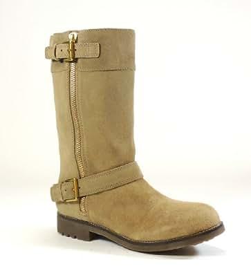 Coach Women's Gracey Boot (Dust, 9.5)