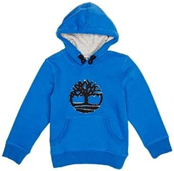 Timberland - winter expedition - sweat-shirt - garçon - bleu (bleu royal) - 6 ans