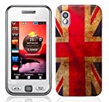Union Jack Design Hard Skin Case For Samsung GT S5230 Tocco Lite star