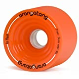 Orangatang In Heat Orange Wheels 75mm