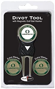 NCAA Oregon Ducks 3 Marker Signature Golf Divot Tool Pack by Team Golf