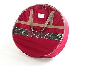 "CoverMates 24"" Christmas Wreath Storage Bag : 24 DIAMETER 600D Polyester"