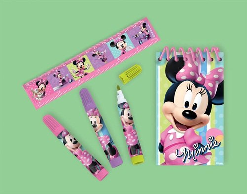 STATIONERY SET MINNIE MOUSE