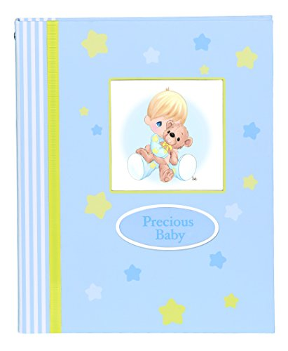 Precious Moments Baby Boy Photo Album Figurine - 1
