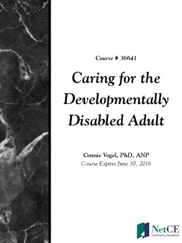 Caring for the Developmentally Disabled Adult PDF