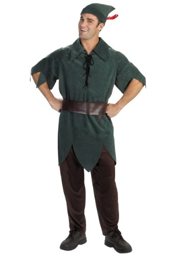 Disguise Mens Disney Peter Pan Theme Party Fancy Dress Costume