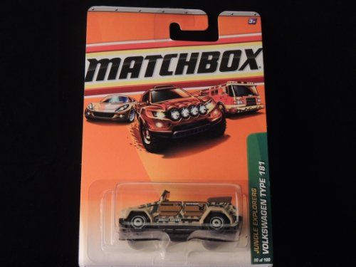 MATCHBOX 2010 JUNGLE EXPLORERS VOLKSWAGEN TYPE 181 98 OF 100 - 1