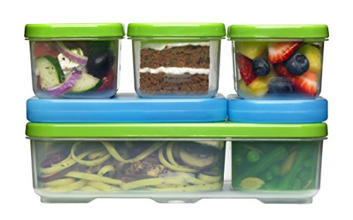 Rubbermaid Lunch Blox Container  Entrée Kit (Medium Rubbermaid Containers compare prices)