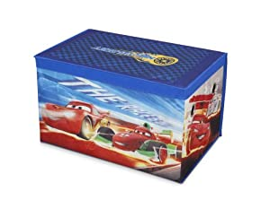 Disney Cars Collapsible Fabric Toy Box