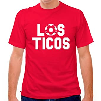 Costa rica los ticos soccer t shirt at amazon men s for Soccer girl problems t shirts