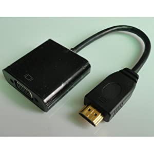 HDMI Male to VGA RGB Female Newest VGA Video 1080P Converter adapter for TV PC