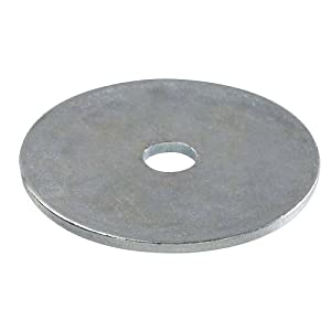 Crown Bolt 20100 1/4 Inch x 1-1/4 Inch Zinc-Plated Steel Fender Washers, 100-Count