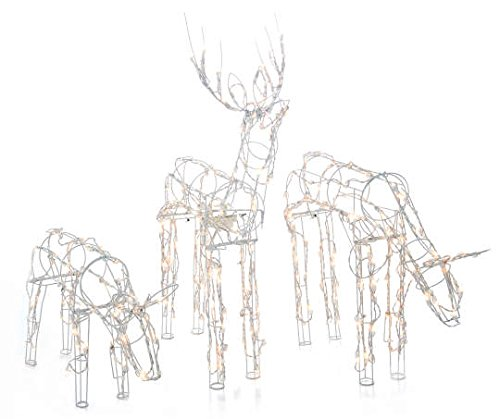 Animated-3-Piece-Lighted-Deer-Family-Christmas-Yard-Decoration-Set-250-Clear-Lights-40-Inch-Buck-Doe-and-24-Inch-Baby