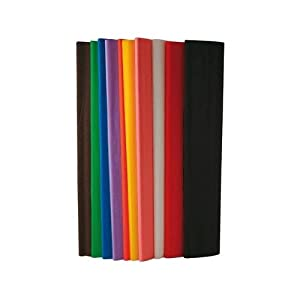 Maildor-papier Crepon Superieur 250x50 Assorti - Paquet De 10 [Jouet]