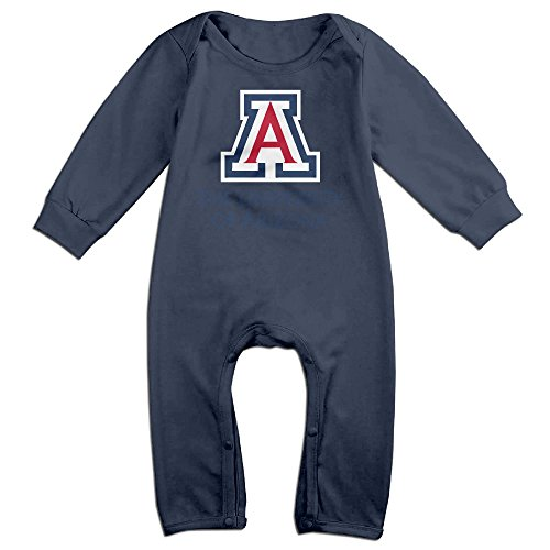 [ULEANDY University Of Arizona Baby Romper Longsleeve Jumpsuit Costume 6 M] (Farmer Girl Costume Images)