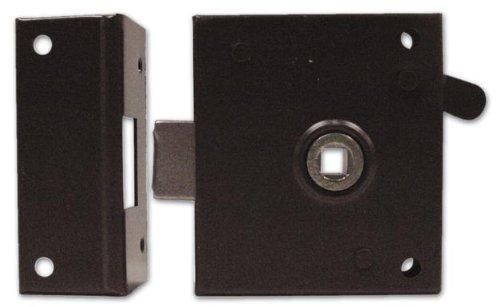 Serratura da Applicare Solo Scrocco Bonaiti Art. 189 Misura 60 mm Verso Dx