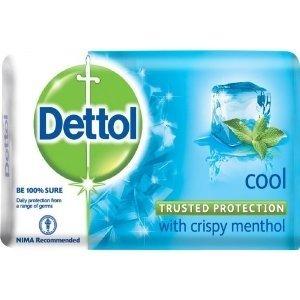 Dettol Cool Soap (3 x 75g)