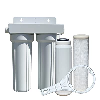 Watts Premier 520022 RV/Boat Duo Exterior Water Filter with Garden Hose Fittings
