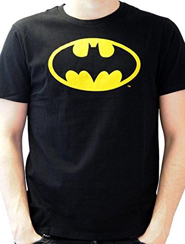 Batman - Batman Logo, T-shirt da uomo, nero (noir), Medium (Taglia Produttore: M)