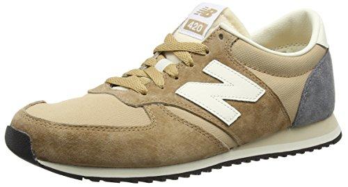 New Balance U420, Zapatillas Para Hombre, Marrón (Brown/Beige), 45.5 EU