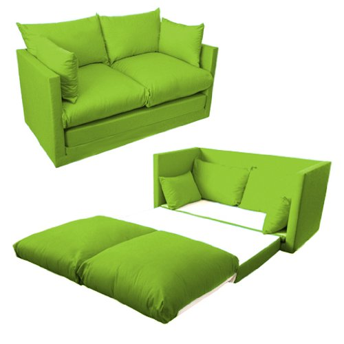 shopisfy-childrens-2-seater-compact-fold-out-sofa-bed-lime