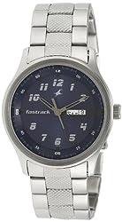 Fastrack Analog Blue Dial Mens Watch - NE3001SM02
