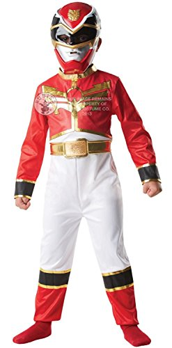 Megaforce red power ranger costume. Medium 5-6 years. Jumpsuit and mask.
