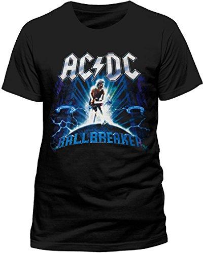 Official AC/DC-Ballbreaker-Maglietta in cotone, colore: Nero, nero, XL