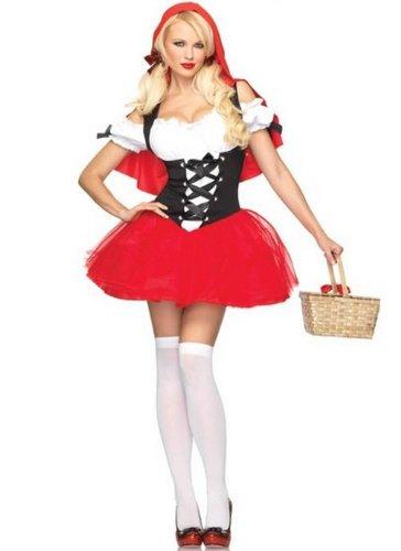 ハロウィン 赤ずきん 赤ずきんちゃん あかずきん 衣装 コスチューム クリスマス コスプレ 仮装 大人 女性 レディース 定番 セクシー 赤 fun costume