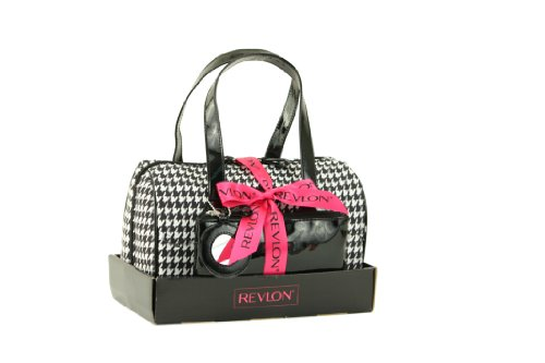 Revlon Houndstooth 3 Piece Bowling Bag Set
