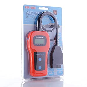 New U480 CAN-BUS OBDII Car Diagnostic Check Engine Auto Scanner Trouble Code Reader