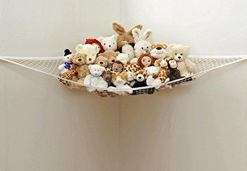 Forepin-Kinderzimmer-Jumbo-Spielzeug-Hngematte-Netz-Ordnung-Spielzeug-Aufbewahrung-Plschtier-Toy-Organizer-fr-Kinder-150100100cmPuppen-sind-nicht-enthalten