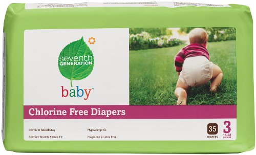 Seventh Generation Chlorine Free Baby Diapers